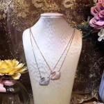 Designer Fashion Sterling Silver Zirconia Necklace