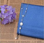 Fashion long with simple temperament necklace
