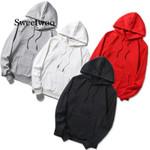 Quality Brand Solid Loose Hoodies