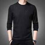 Cotton Polyester Long Sleeve O Neck Sweatshirts