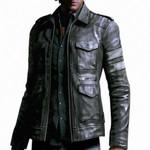 Leather Waterproof Faux Fur Jackets