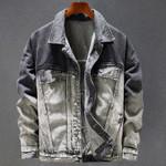 Automotive Personality Fashion Denim Jackets