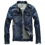 Young Vintage Casual Denim Jackets