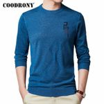 Casual O-Neck Pullover Fashion Thin Sweaters