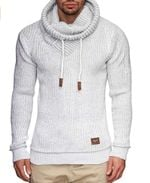 Long Sleeve Solid Color Hooded Sweater