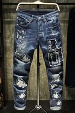 Fashion Runway Luxury Casual Jeans