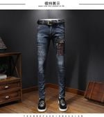Fashion Runway Luxury Casual Pockets Jeans