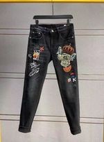 Fashion Runway Luxury famous Brand Jeans
