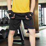 Sportswear Casual Zipper Pocket Breathable Short