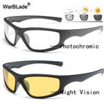 Night Vision Polarized Photochromic Sunglasses