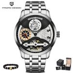 Luxury Mechanical Business Automatic Wristwatch