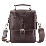 Multifunction Crossbody Genuine Leather Handbag