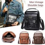 Leather Casual Business Vintage Crossbody Handbags