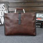 casual One Shoulder Leather Vintage handbag