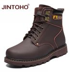 Work & Safety Genuine Leather Ankle Boots