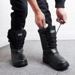 waterproof Calf Fur warm Boot