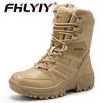 Brand Military Tactical Force Leather Ankle Boot