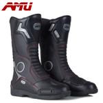 Motorcycle Leather Waterproof Boot