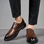 Leather Formal Brogue Luxury Oxford Shoes