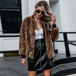 Velvet Leopard Casual Fashion Sexy Boho Jackets