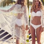 Lace Cover Up Long Sunscreen Boho Bohemian Kimonos