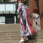Cover Ups Long Sunscreen chiffon Boho Bohemian Kimonos