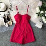 Chiffon Sleeveless Sundress Casual Boho Bohemian Rompers