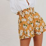 Fashion Print High Waist Boho Bohemian Shorts