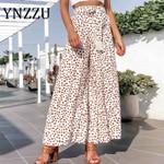 Fashion High Waist Printed Boho Bohemian Pants