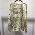 Fashion Runway Luxury Brand European Design Sweatshirts