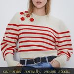 fashion Stripe Knitting Sweater