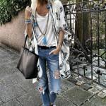 Casual Vintage Long Chiffon Kimono