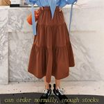 fashion vintage Cake Half-body Skirt