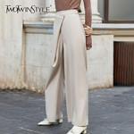 Elegant Irregular Full Length Pant