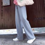 Fashion Vintage Elastics High Waist Pants