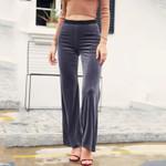 High waist streetwear Micro horn pants