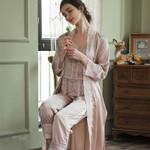 Robe Long sleeve Elegant Sleepwear