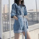 Leisure loose Casual Romper