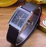 Fashion Casual Leather Square Wrist Watches