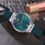 Classic Style Green Dial Quartz Wristwatch