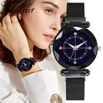 Luxury Starry Sky Fashion Elegant Magnet Wristwatch
