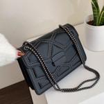 Fashion Chain Small Crossbody High Quality Leather Handbags