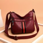 fashion genuine leather casual cowhide handbags