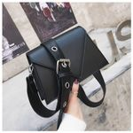 Solid Retro Crossbody Fashion Quality Leather Handbags