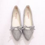 Comfortable Pointed Toe Bowtie Flat shoes