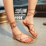 Bohemia Roman Peep-toe Sexy Cross Strap Sandals