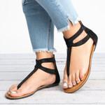 Bohemia Fashion Diamond Zipper Gladiator Sandals