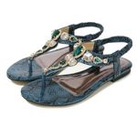 Crystal Casual Flip Flop Elastic Sexy High Quality Sandals