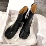 Brand Design Split toe Chunky High Boots