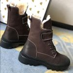Shearling Snow Luxury Leather Boots